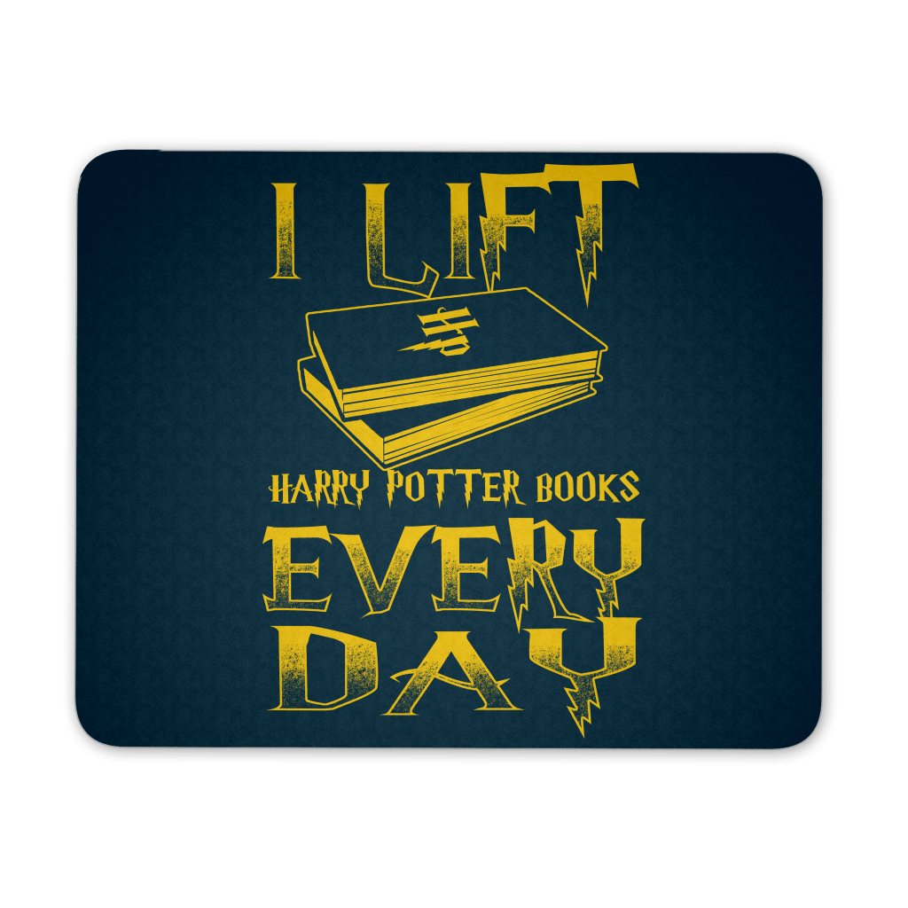 Mouse Pads - I Lift HP Books Every Day Mousepad