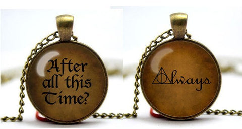"Necklace - 2 Necklaces Set Limited Edition ""After All This Time? Always."""