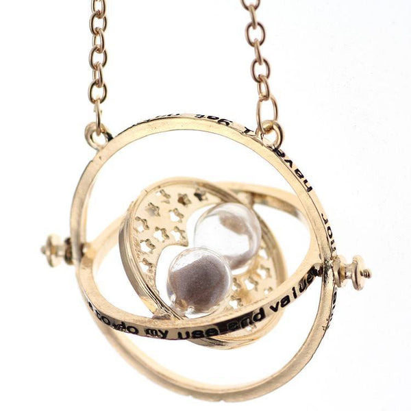 Necklace - Rotating Time Turner Hermione Necklace