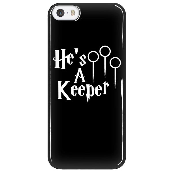 Phone Cases - Limited Edition - Harry Potter He`s A Keeper Iphone 5/6/6 Plus Cover
