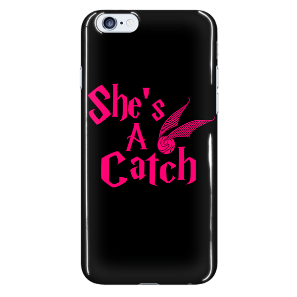 Phone Cases - Limited Edition - Harry Potter She`s A Catch Iphone 5/6/6 Plus Cover