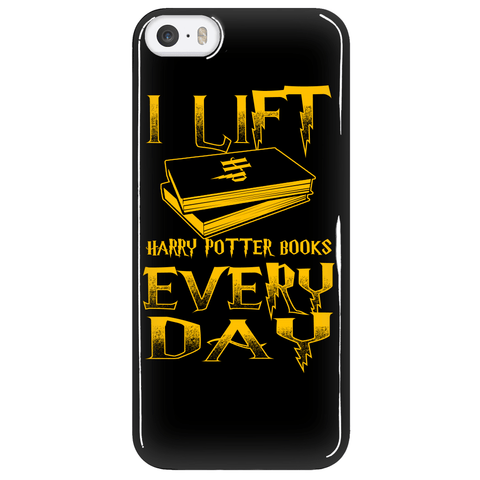 Phone Cases - Limited Edition - Lift Harry Potter Books Iphone 5/6/6 Plus Cover