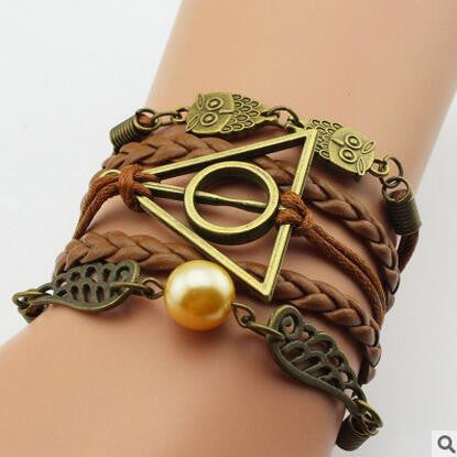 **41% Discount** Harry Potter Leather Infinite Bracelet