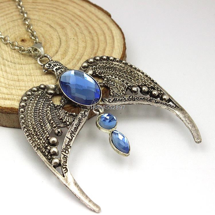 Deathly Hallows Ravenclaw Crown Necklace