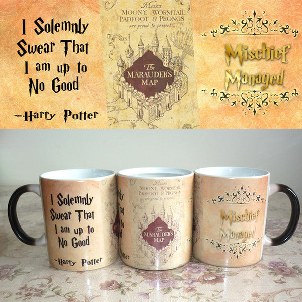 Coffee Cup The Marauder's Map Mischief Managed
