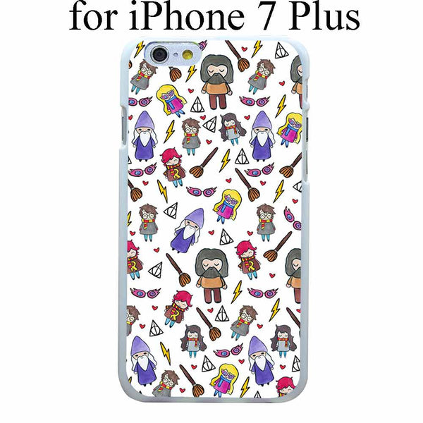 harry potter Style Hard White Case Cover for iPhone 4 4s 5 5s 6 6s 6 7 7 Plus Back Print Design