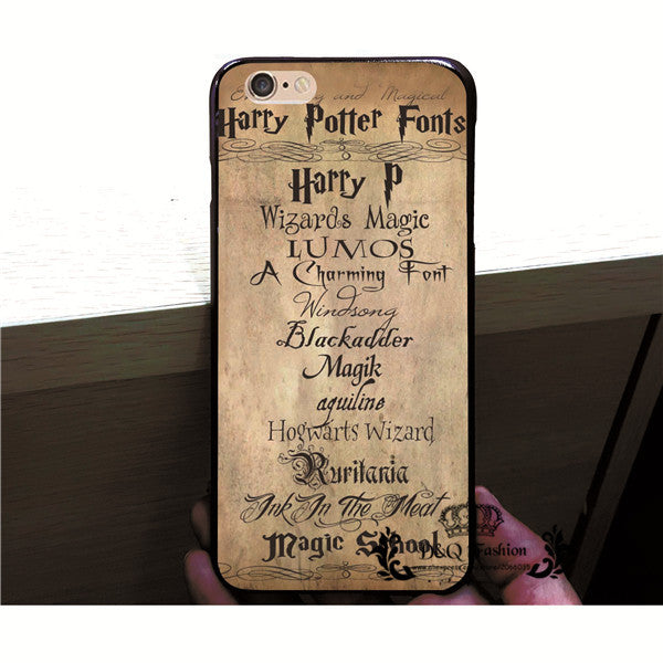 **39% Discount** Harry Potter Case For iPhone 6