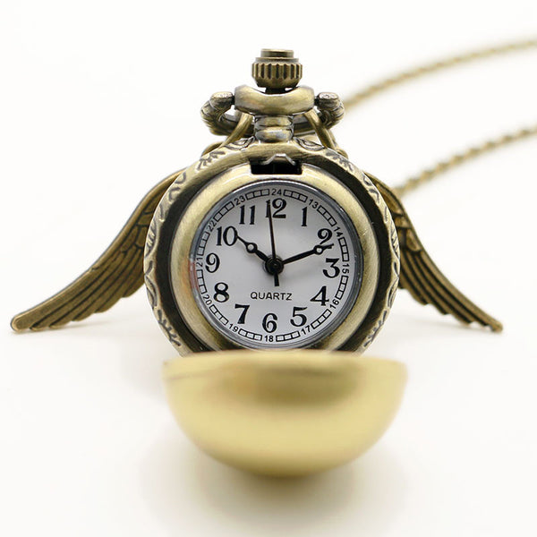 **33% Discount** Harry Gold Snitch Wings Necklace
