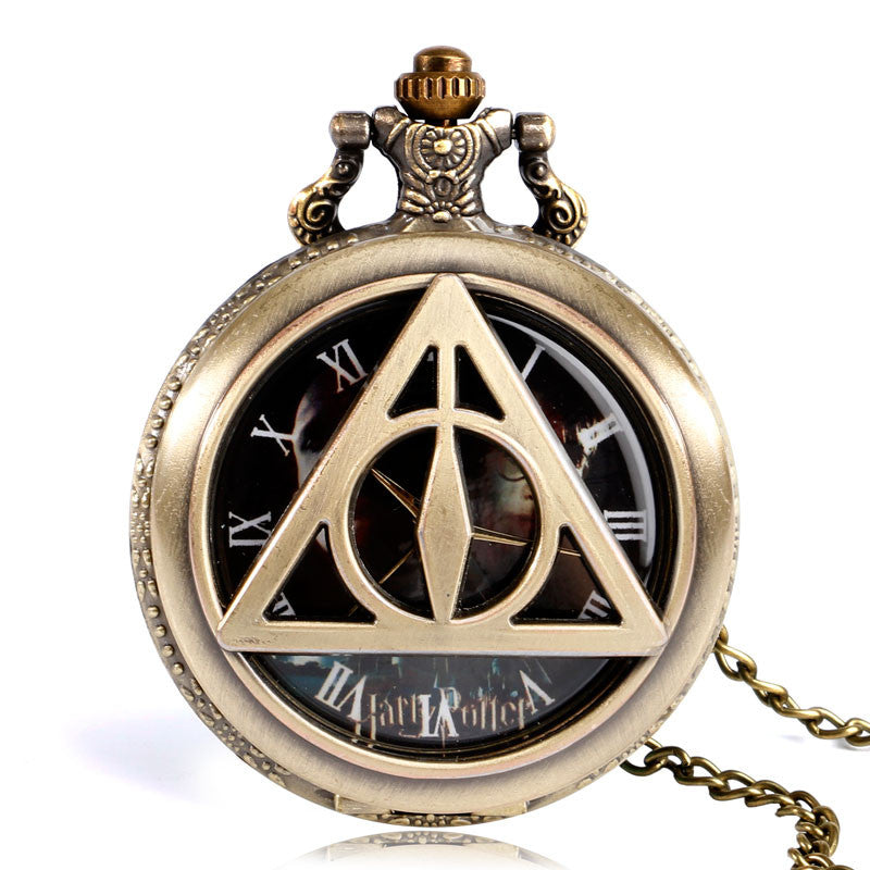 **33% Discount** Harry Potter Analog Pocket Watch