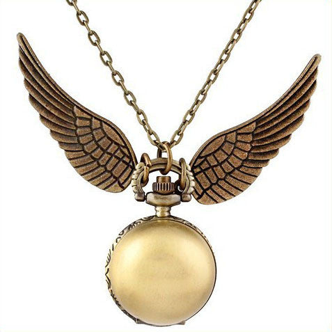 **40% Discount** Harry Potter Ball Wings Quartz Watch