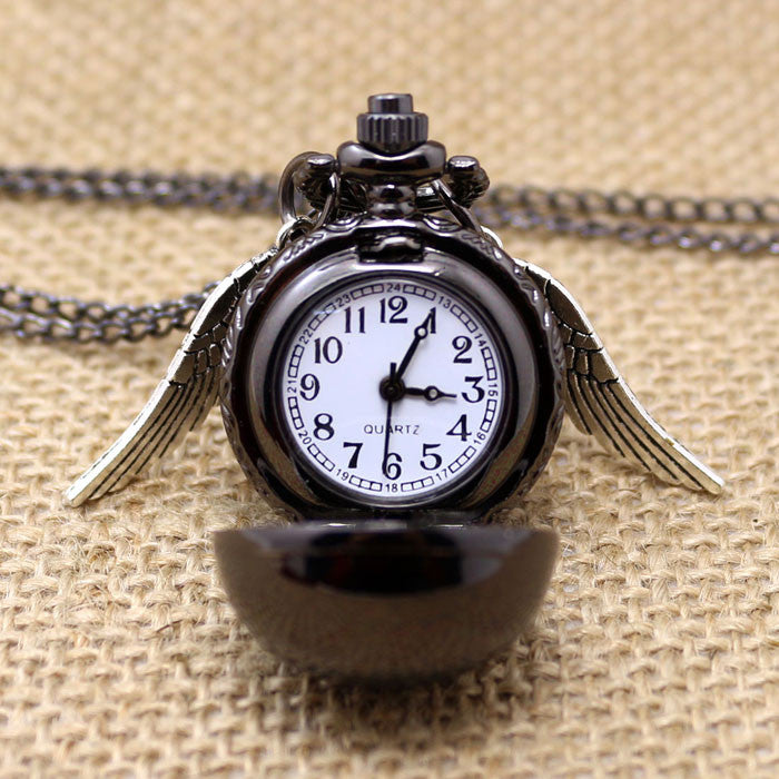 **42% Discount** Harry Potter Black Pocket Watch