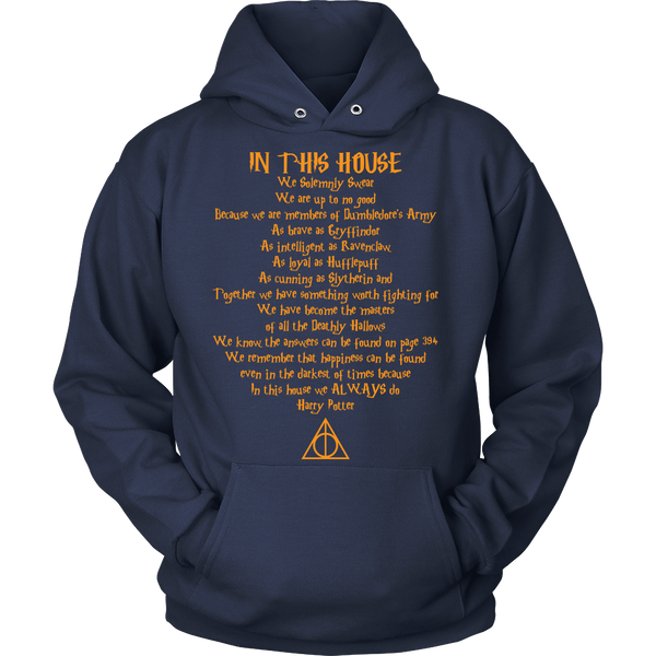 In This House Quote T-shirt