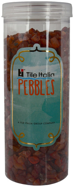 Located in Bangalore, Tile Italia Pebbles is the best option for you to buy chips! We are India's leading supplier and wholesale dealers in pebbles and chips. These Carnelian chips are great for interiors, landscaping and garden décor. Quirky and colourful they are great as gifts for every occasion. They require low maintenance and are cheap and reasonable. They easily fit into your home décor and enhance beauty of any place.