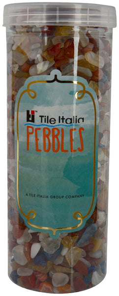 Located in Bangalore, Tile Italia Pebbles is the best option for you to buy chips! We are India's leading supplier and wholesale dealers in pebbles and chips. These Mixed Onyx chips are great for interiors, landscaping and garden décor. Quirky and colourful they are great as gifts for every occasion. They require low maintenance and are cheap and reasonable. They easily fit into your home décor and enhance beauty of any place.