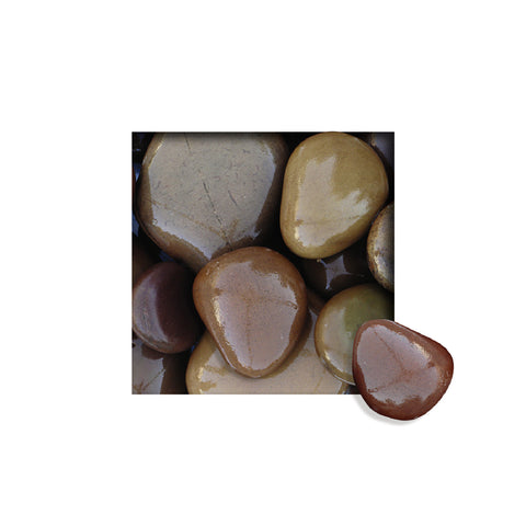 Located in Bangalore, Tile Italia Pebbles is the best option for you to buy natural pebbles! We are India's leading supplier and wholesale dealers in pebbles. These Himalayan Brown natural pebbles are great for interiors, landscaping and garden décor. Quirky and colorful they are great as gifts for every occasion. They require low maintenance and are cheap and reasonable. They easily fit into your home décor and enhance beauty of any place.