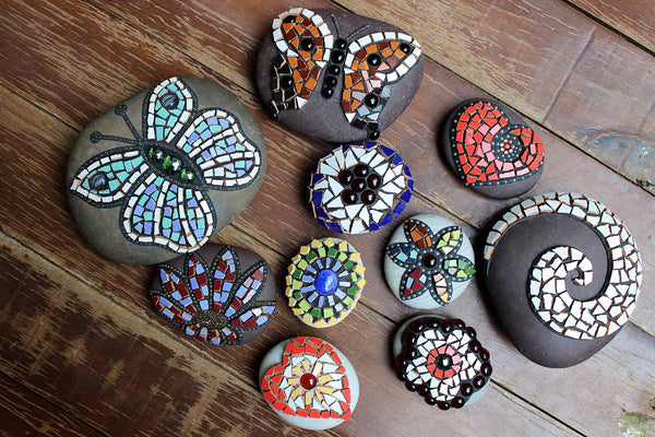 Located in Bangalore, Tile Italia Pebbles is the best option for you to buy Mosaic pebbles! We are India's leading supplier and wholesale dealers in pebbles. These Mosaic Turkish Evil Eye pebbles are great for interiors, landscaping and garden décor. Quirky and colourful they are great as gifts for every occasion. They require low maintenance and are cheap and reasonable. They easily fit into your home décor and enhance beauty of any place.
