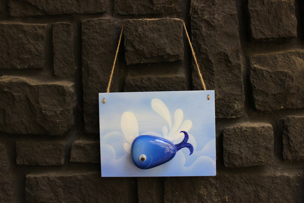 Located in Bangalore, Tile Italia Pebbles is the best option for you to buy painted pebbles! We are India's leading supplier and wholesale dealers in pebbles. This Painted Pebble Portrait- Whale is great for interiors, landscaping and garden décor. Quirky and colourful they are great as gifts for every occasion. They require low maintenance and are cheap and reasonable. They easily fit into your home décor and enhance beauty of any place.
