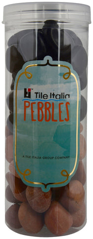 Located in Bangalore, Tile Italia Pebbles is the best option for you to buy pebbles! We are India's leading supplier and wholesale dealers in pebbles. These Black & Pink polished pebbles are great for interiors, landscaping and garden décor. Quirky and colourful they are great as gifts for every occasion. They require low maintenance and are cheap and reasonable. They easily fit into your home décor and enhance beauty of any place.