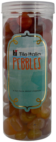 Located in Bangalore, Tile Italia Pebbles is the best option for you to buy pebbles! We are India's leading supplier and wholesale dealers in pebbles. These Onyx Yellow & Carnelian polished pebbles are great for interiors, landscaping and garden décor. Quirky and colourful they are great as gifts for every occasion. They require low maintenance and are cheap and reasonable. They easily fit into your home décor and enhance beauty of any place.