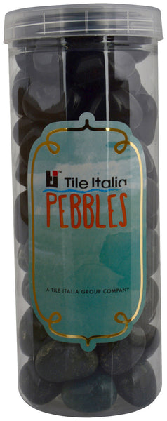 Located in Bangalore, Tile Italia Pebbles is the best option for you to buy pebbles! We are India's leading supplier and wholesale dealers in pebbles. These Black & Dark Green polished pebbles are great for interiors, landscaping and garden décor. Quirky and colourful they are great as gifts for every occasion. They require low maintenance and are cheap and reasonable. They easily fit into your home décor and enhance beauty of any place.