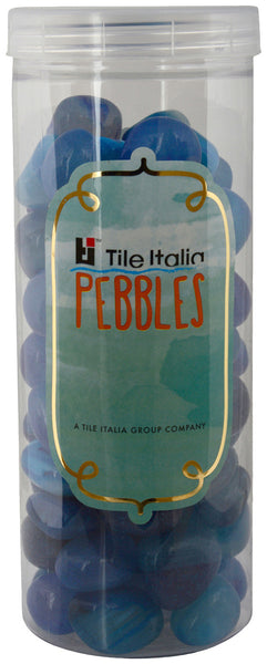 Located in Bangalore, Tile Italia Pebbles is the best option for you to buy pebbles! We are India's leading supplier and wholesale dealers in pebbles. These Onyx Blue polished pebbles are great for interiors, landscaping and garden décor. Quirky and colourful they are great as gifts for every occasion. They require low maintenance and are cheap and reasonable. They easily fit into your home décor and enhance beauty of any place.