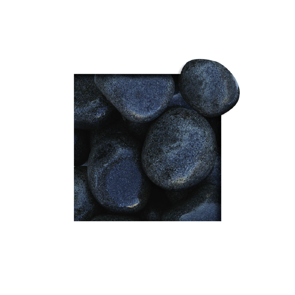 Located in Bangalore, Tile Italia Pebbles is the best option for you to buy tumbled pebbles! We are India's leading supplier and wholesale dealers in pebbles. These Black Tumbled pebbles are great for interiors, landscaping and garden décor. Quirky and colorful they are great as gifts for every occasion. They require low maintenance and are cheap and reasonable. They easily fit into your home décor and enhance beauty of any place.
