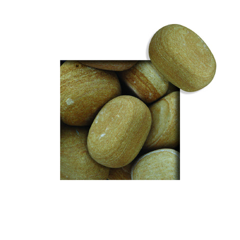 Located in Bangalore, Tile Italia Pebbles is the best option for you to buy tumbled pebbles! We are India's leading supplier and wholesale dealers in pebbles. These Desert Yellow Tumbled pebbles are great for interiors, landscaping and garden décor. Quirky and colorful they are great as gifts for every occasion. They require low maintenance and are cheap and reasonable. They easily fit into your home décor and enhance beauty of any place.