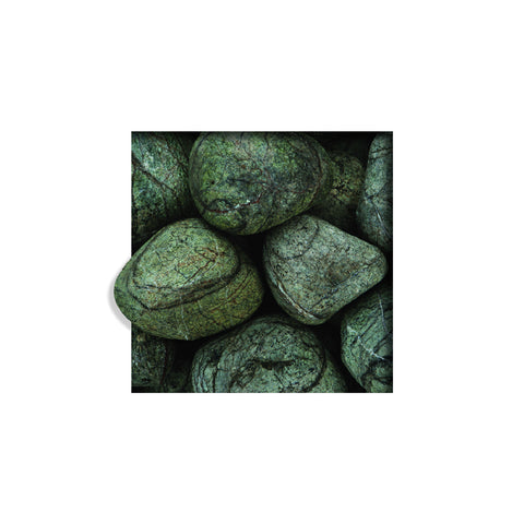 Located in Bangalore, Tile Italia Pebbles is the best option for you to buy tumbled pebbles! We are India's leading supplier and wholesale dealers in pebbles. These Forest Green Tumbled pebbles are great for interiors, landscaping and garden décor. Quirky and colorful they are great as gifts for every occasion. They require low maintenance and are cheap and reasonable. They easily fit into your home décor and enhance beauty of any place.