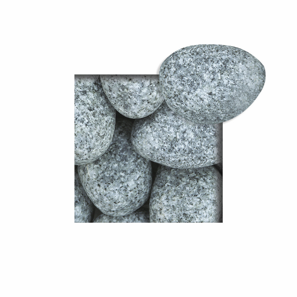 Located in Bangalore, Tile Italia Pebbles is the best option for you to buy tumbled pebbles! We are India's leading supplier and wholesale dealers in pebbles. These Sadarahalli Grey Tumbled pebbles are great for interiors, landscaping and garden décor. Quirky and colorful they are great as gifts for every occasion. They require low maintenance and are cheap and reasonable. They easily fit into your home décor and enhance beauty of any place.