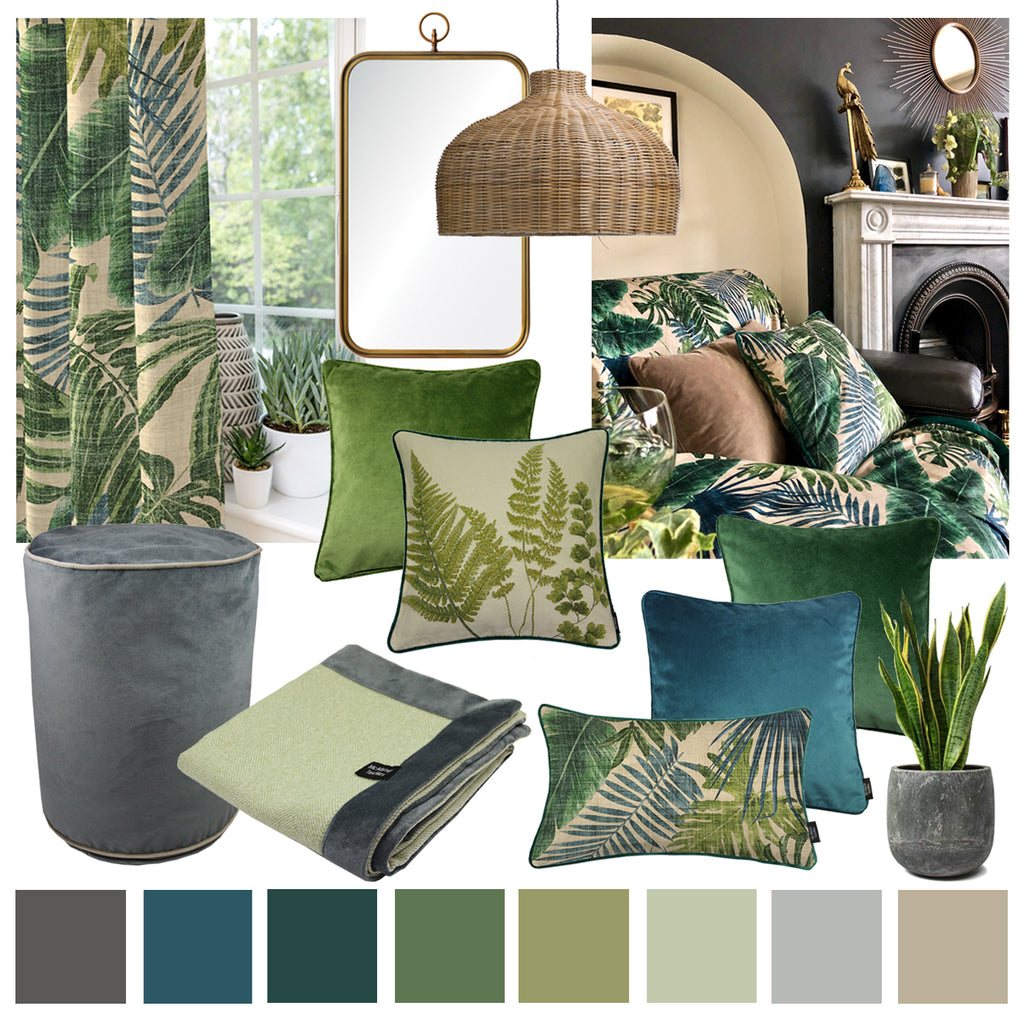 Invite the Outdoors In with Botanical Inspired Decor