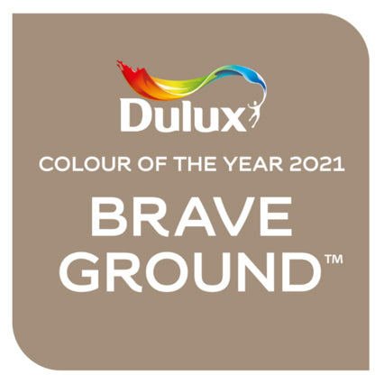 Dulux announces Brave Ground as their Colour of the Year for 2021