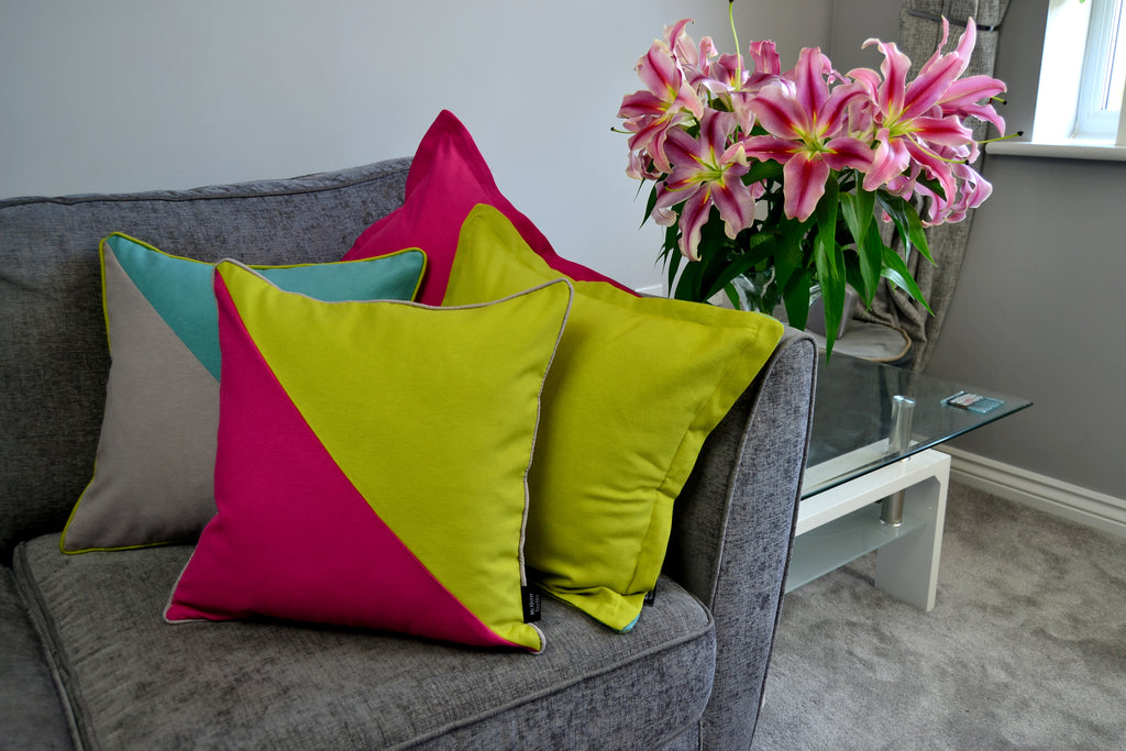 New for Summer 2018 - Panama Contrast Cushions