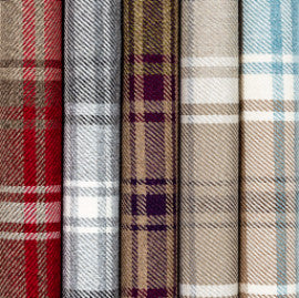 check-tartan-fabric-mcalister-textiles-uk-curtains-interiors-red-grey-blue-white-multicoloured