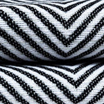 Carica l'immagine nel visualizzatore di Gallery, McAlister Textiles Herringbone Twill Black + White Abstract Pillow Pillow