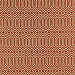 Load image into Gallery viewer, McAlister Textiles Colorado Geometric Burnt Orange Roman Blind Roman Blinds