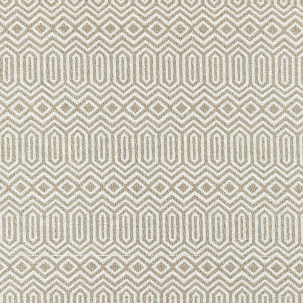McAlister Textiles Colorado Geometric Taupe Beige Roman Blind Roman Blinds