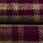 Cargar imagen en el visor de la galería, McAlister Textiles Angus Purple + Green Tartan Throws & Runners Throws and Runners