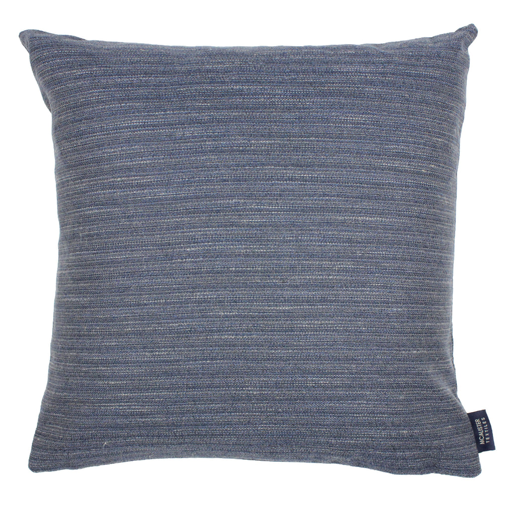 McAlister Textiles Hamleton Navy Blue Textured Plain Cushion Cushions and Covers Cover Only 49cm x 49cm