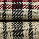 Load image into Gallery viewer, McAlister Textiles Angus Red + White Tartan Throw Throws and Runners