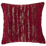 Load image into Gallery viewer, McAlister Textiles Textured Chenille Wine Red Cushion Cushions and Covers Polyester Filler 49cm x 49cm