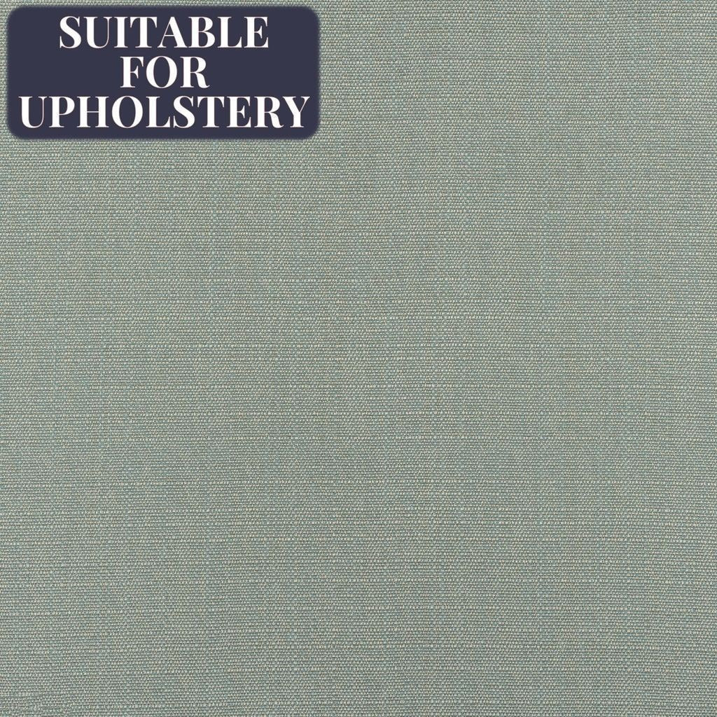 McAlister Textiles Savannah Duck Egg Blue Fabric Fabrics