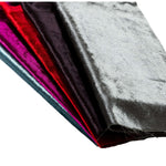 Load image into Gallery viewer, McAlister Textiles Black Crushed Velvet Cushions Cushions and Covers