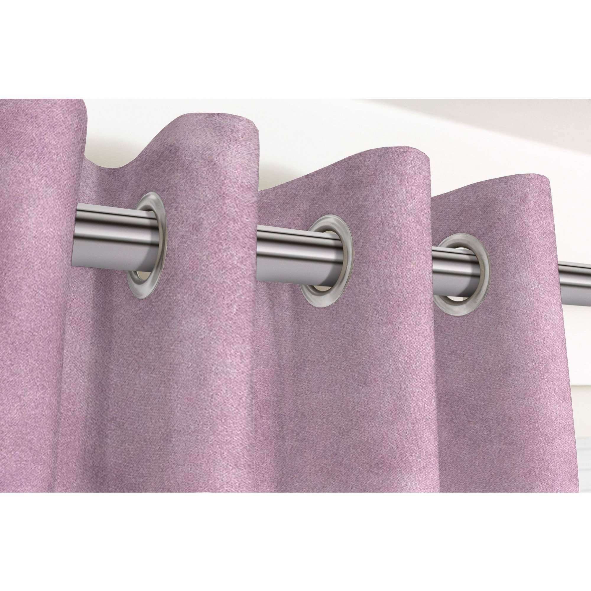 "McAlister Textiles Matt Lilac Purple Velvet Curtains Tailored Curtains 116cm(w) x 182cm(d) (46"" x 72"")"