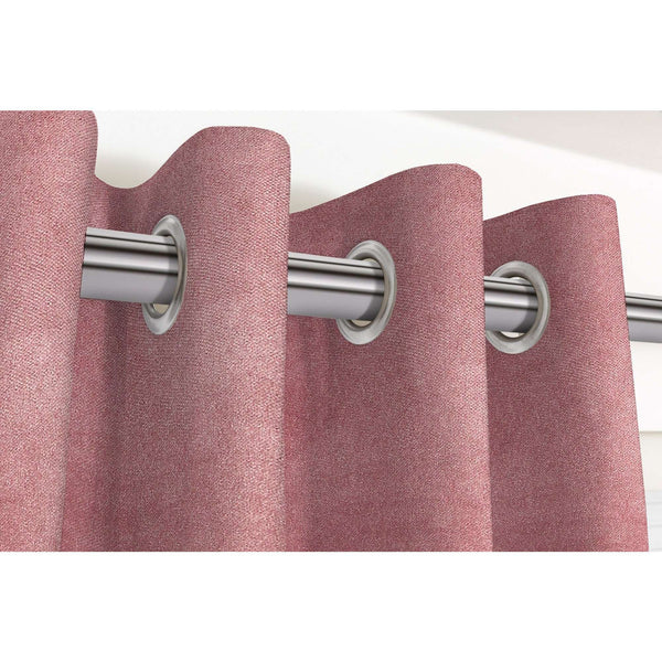 "McAlister Textiles Matt Blush Pink Velvet Curtains Tailored Curtains Pencil Pleat Standard Lining 116cm(w) x 137cm(d) (46"" x 54"")"