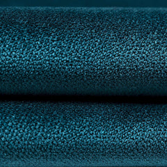 McAlister Textiles Matt Teal Velvet Throws & Runners-Throws and Runners-