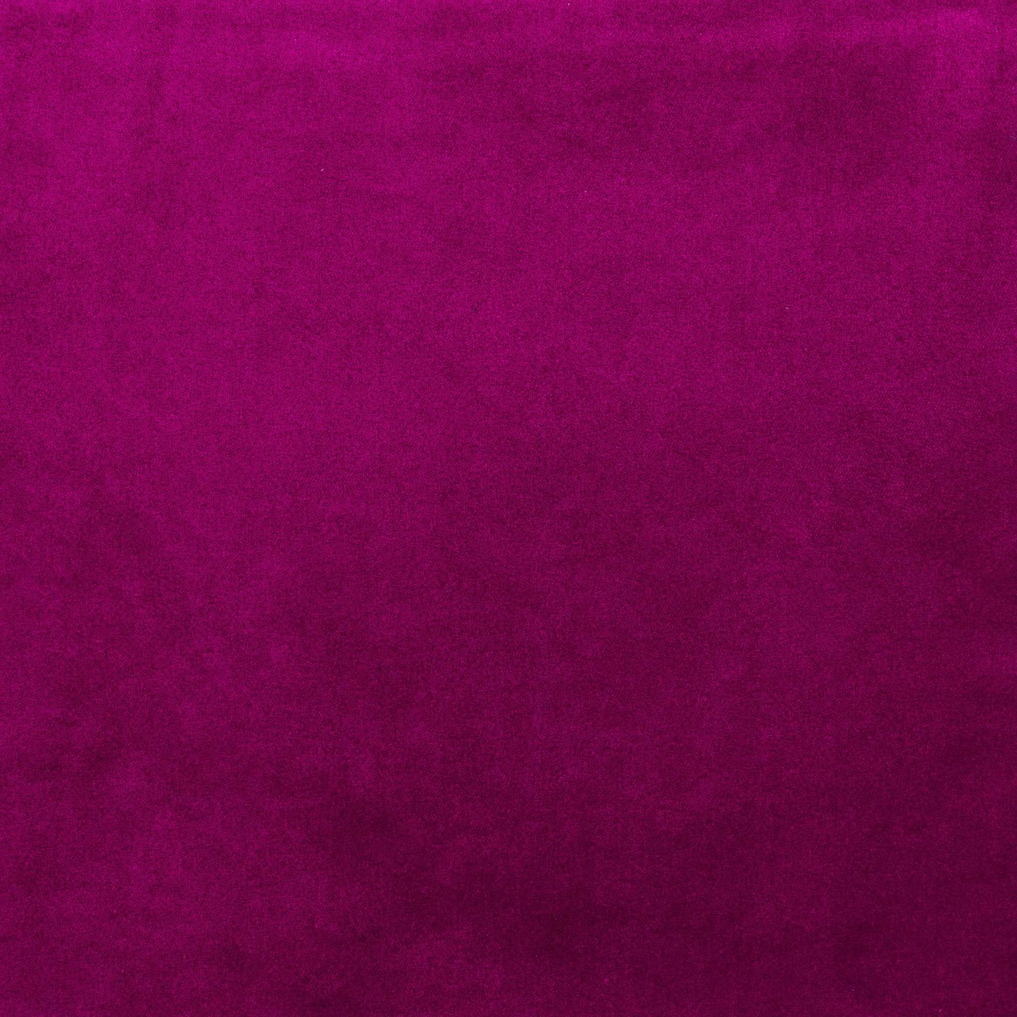 McAlister Textiles Matt Fuchsia Pink Velvet Throw Blanket Throws and Runners