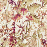 Load image into Gallery viewer, McAlister Textiles Wildflower Burnt Orange Linen Fabric Fabrics 1 Metre