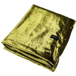 Load image into Gallery viewer, McAlister Textiles Lime Green Crushed Velvet Throw Throws and Runners