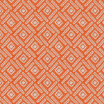 Cargar imagen en el visor de la galería, McAlister Textiles Elva Geometric Burnt Orange Curtains Tailored Curtains