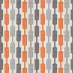 Carica l'immagine nel visualizzatore di Gallery, McAlister Textiles Lotta Burnt Orange + Grey Roman Blind Roman Blinds